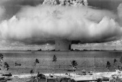 Pruebas nucleares de EEUU en 1964.