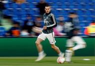 Bale, durante la pretemporada del Madrid.