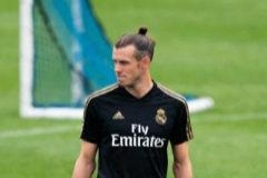 Bale, durante un entrenamiento de la pretemporda en Montreal.