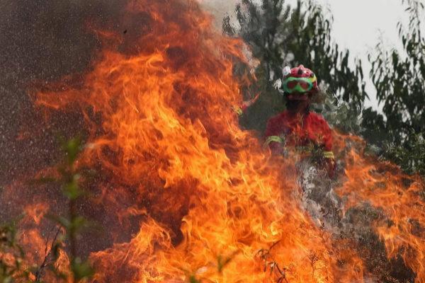 FOTODELDIA-EPA1279. MACAO (<HIT>PORTUGAL</HIT>).- Un bombero trata de...