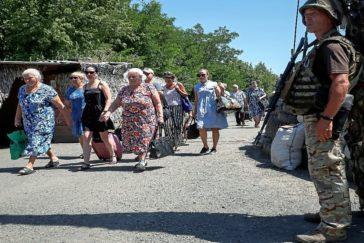 Morir por una pensión en Donbas
