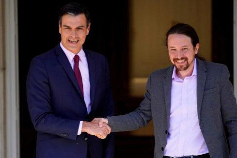 El pacto con Podemos quiebra el plan de Pedro Sánchez de virar al centro