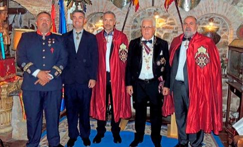 Falsos nobles (de izq a drch): Nicolás Callejas y Sánchez, Francisco Vilches y Sánchez, Rafael de Andújar y Raúl Torres y Alfonso.