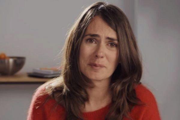La actriz Anna Allen durante su monólogo en 'Paquita Salas'.