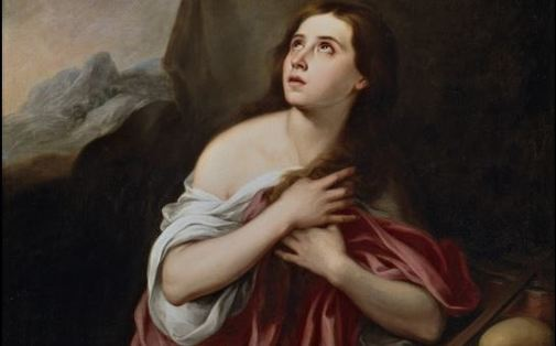 'Magdalena penitente', de Murillo
