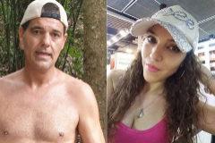 Franx Cuesta y Estefanía Royal, su nueva pareja, en fotos compartidas en sus perfiles de Instagram.