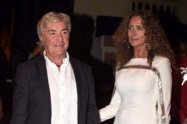 Ángel Nieto junto a Belinda Alonso.