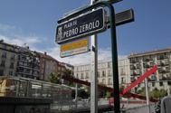 Vista de la Plaza Pedro Zerolo.
