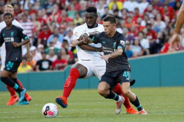 AME8900. BOSTON (ESTADOS UNIDOS), 21/07/2019.- El jugador del Sevilla...