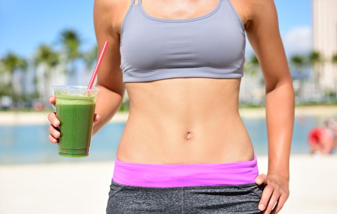 Verduras para bajar de peso el abdomen