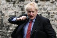 El favorito para suceder a Theresa May, Boris Johnson.