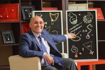 El empresario extremeño Ricardo Leal, dueño del imperio industrial que lidera la marca Cristian Lay.