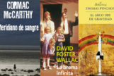 Algunas portadas de las novelas que se encaminan a ser la Gran Novela Americana.