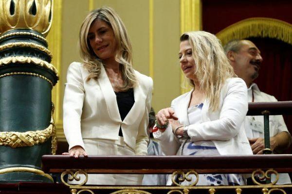 Begoña Gómez siguió como invitada la primera sesión del pleno en...