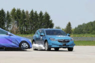 ZF idea un airbag lateral que mitiga los impactos laterales