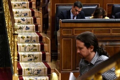 Pablo Iglesias se planta  con la exigencia de cinco ministerios y Pedro Sánchez se niega