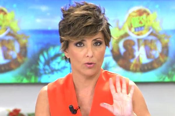 Sonsoles Ónega, presentadora de Ya es mediodía en Telecinco, pidió...