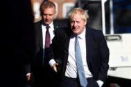 El ex ministro de Asuntos Exteriores, Boris Johnson.