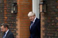 Boris Johnson, el ex ministro de Asuntos Exteriores y nuevo líder 'tory'.