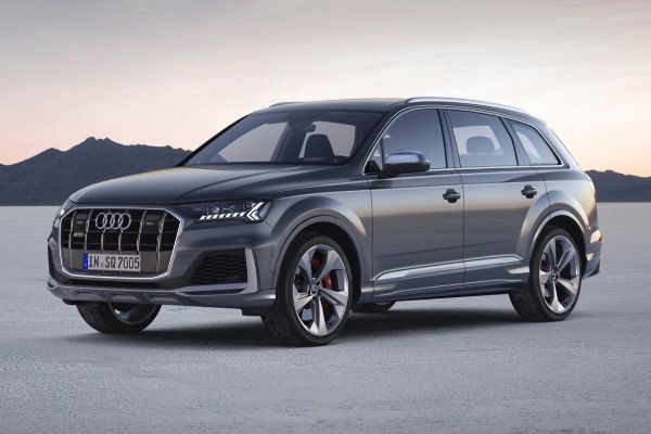 Audi SQ7 TDI: con motor V8 diésel de 435 caballos