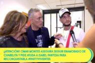 Gema López, Kiko Hernández y Paz Padilla entrevistan a Omar Montes