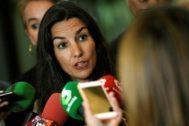 La presidenta de Vox en la Comunidad de Madrid, Rocío Monasterio.