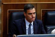 Pedro Sánchez, presidente del Gobierno en funciones.