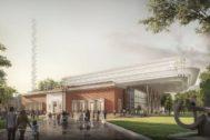 Proyecto de Norman Foster para el Museo de Bellas Artes de Bilbao.