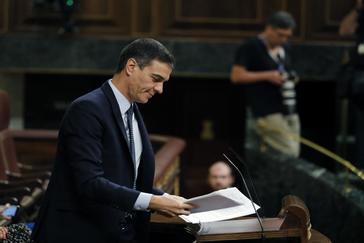 Pedro Sánchez pierde la primera votación pero Podemos se abstiene