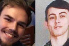Una imagen de los adolescentes desaparecidos que las autoridades canadienses han pubclicado.