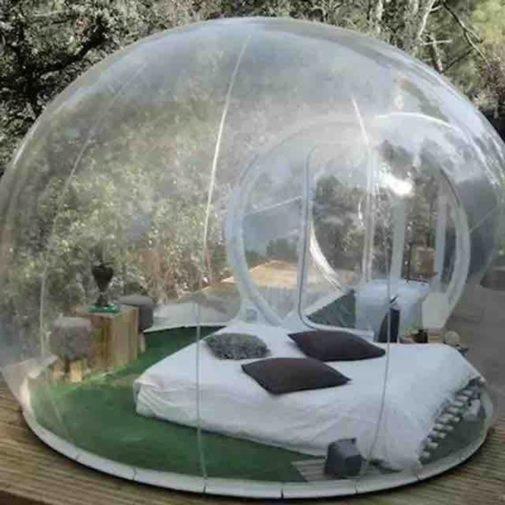 Alquila una burbuja en Formentera por 2.000 euros a la semana