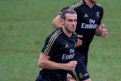 Gareth Bale, en pleno entrenamiento de pretemporada en Montreal.