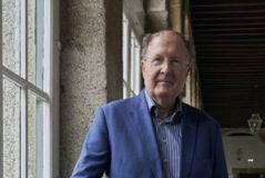 Gregory Winter, Nobel de Química 2018, el viernes en El Escorial.