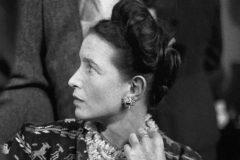 La escritora Simone de Beauvoir.