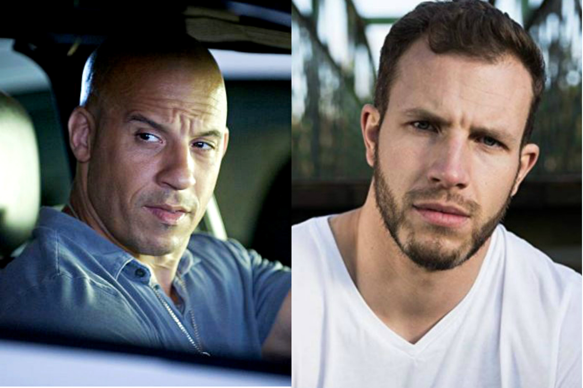Vin Diesel y su doble, Joe Watts
