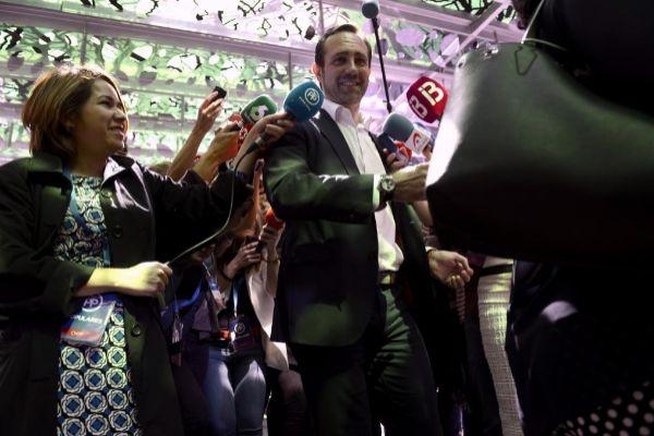 José Ramón Bauzá, a su llegada a una reunión de la Junta Directiva...