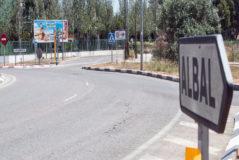 Acceso al municipio valenciano de Albal.
