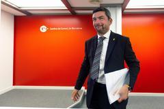 La Cámara de Barcelona dará las ruedas de prensa sólo en catalán