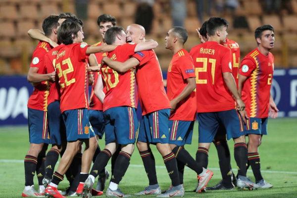 GRAF8557. EREVÁN (ARMENIA).- Los jugadores de la selección española...