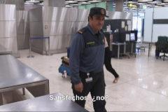 El guardia civil en el programa 'Control de Fronteras'.