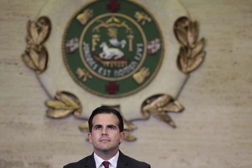 El gobernador de Puerto Rico, Ricardo Roselló.