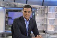 Pedro Sánchez en la entrevista en Mediaset el pasado 4 de julio