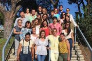 Participantes en el programa académico de habilidades laborales.