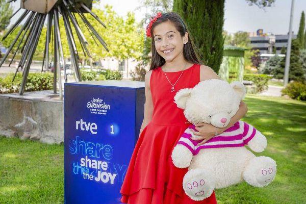 Melani García es la representante de España en Eurovisión Junior...