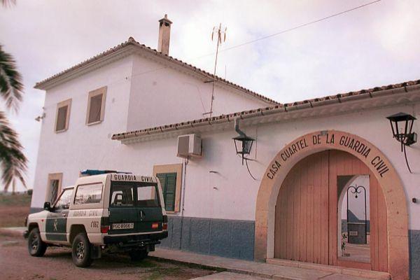 Cuartel de la Guardia Civil en Vilafranca.