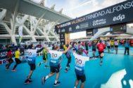 CaixaBank firma tres años más como marca oficial del Medio Maratón y el Maratón Valencia