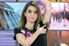 Carme Chaparro en el programa 'Cuatro al día'.
