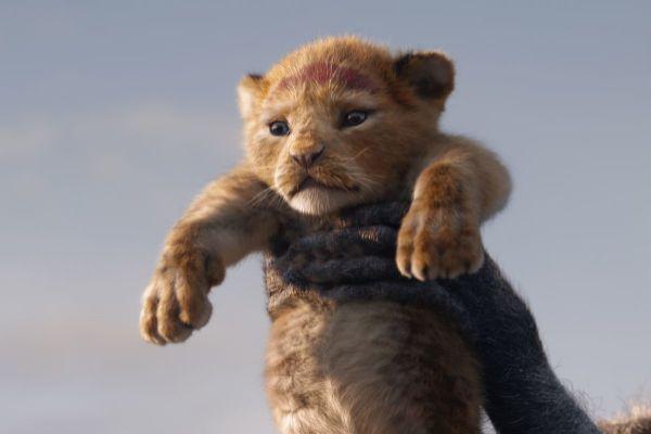 Imagen de la nueva versión de El Rey León, película que una...