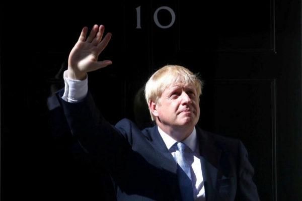 Britain&apos;s new Prime Minister, <HIT>Boris</HIT> <HIT>Johnson</HIT>,...