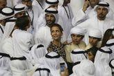 La princesa Haya de Jordania en Dubai en 2018